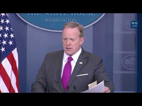 Sean Spicer Press Briefing Conference Donald Trump Press Secretary 3/9/2017 LIVE SPEECH