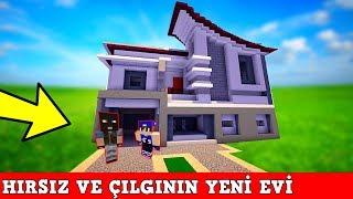 HIRSIZ VS POLİS #23 - Yeni Ev Turu (Minecraft)