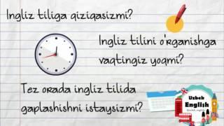 Ingliz Til Videodarslari Intro Uzbek English