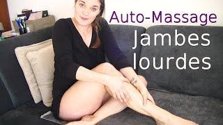 Auto-massage: Soin jambes lourdes