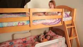 видео двухъярусные кровати для детей