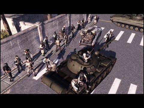 BATTLE OF TRIPOLI - Ultimate War Mod Gameplay