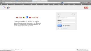 Google Account Instructions