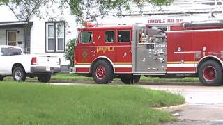 Firefighters extinguish morning house fire in Kirksville
