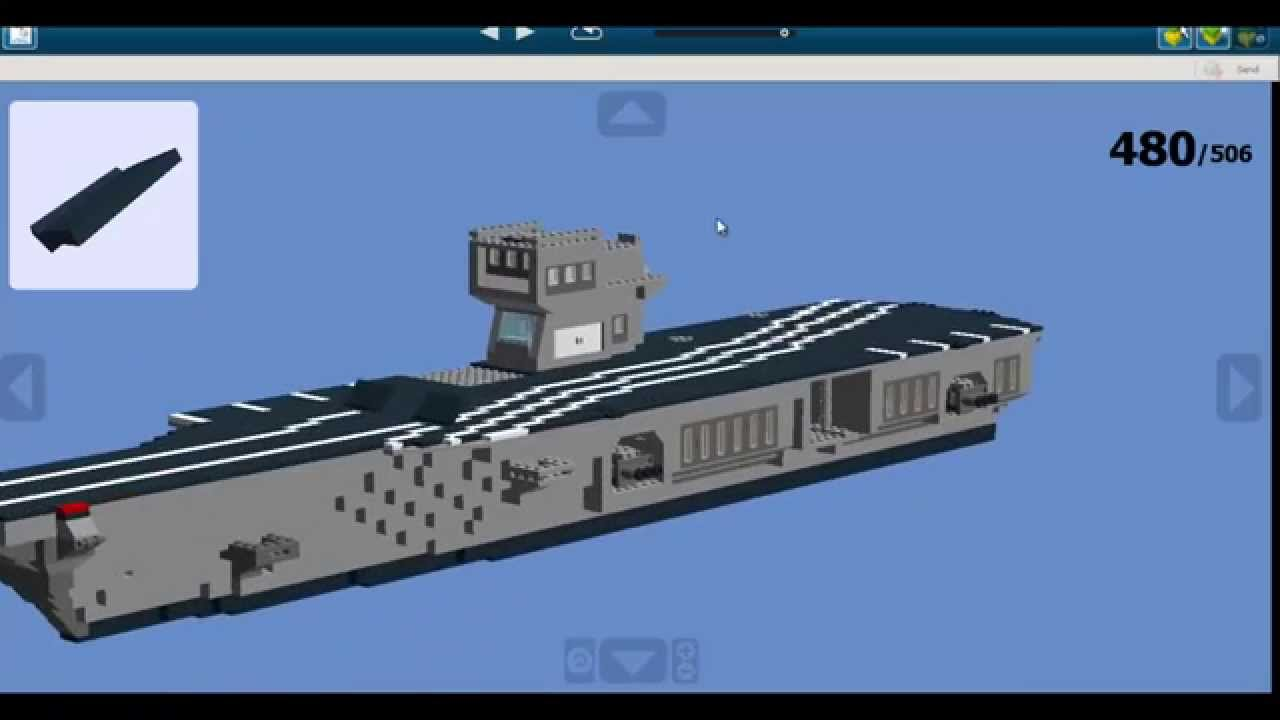 how to build a lego aircraft carrier youtube