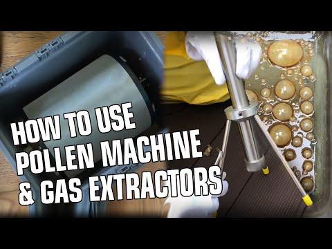 HEISENBERG Pollenmaschine Und Edelstahl Extraktor Für Gas Extraktion