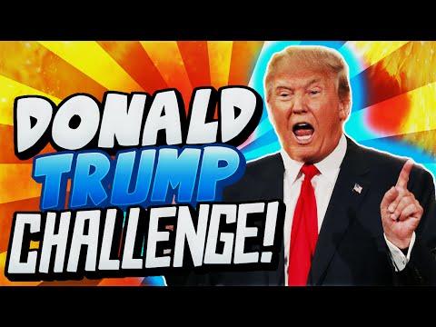 DONALD TRUMP CHALLENGE!! ( Minecraft TEAM Skywars w/ NoBoom & TheCampingRusher )