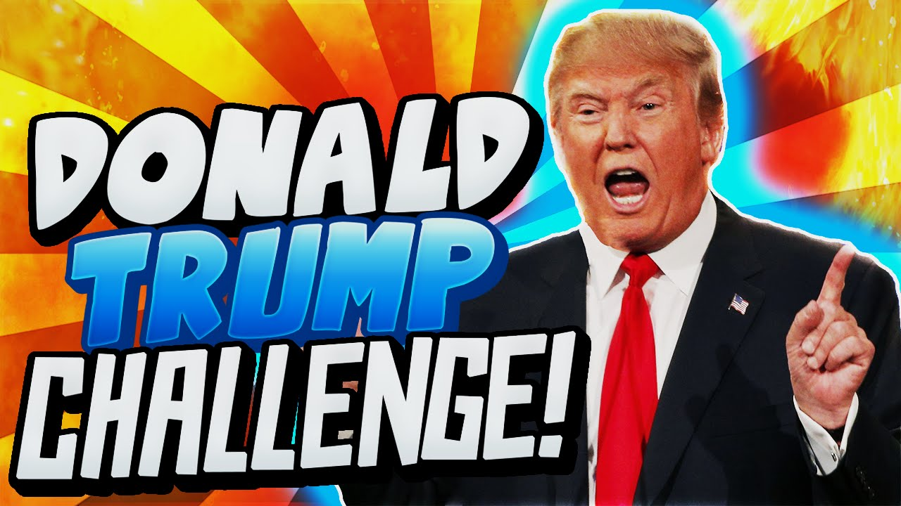 Image result for TrumpChallenge