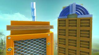 TOWER BUILD BATTLE! (Scrap Mechanic)
