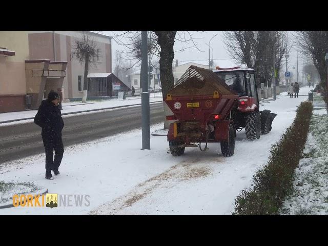 Снег в Горках