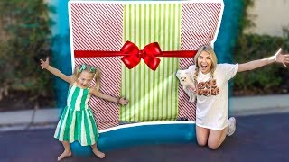 I SURPRISE SAVANNAH AND EVERLEIGH WITH HUGE NEW PRESENT SURPRISE!!!