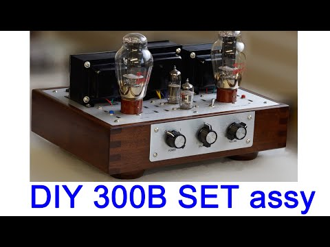 DIY KIT 300B SE tube amplifier VG-15K PART 2. single point ground wiring and solderin