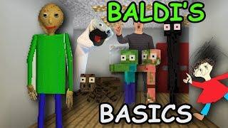 - Monster School BALDI S BASICS Challenge Minecraft