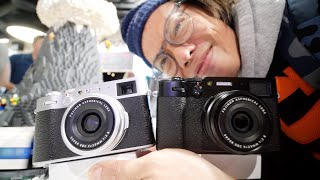 Fujifilm X100V Hands-on First Look - Slickest Version Yet + Tilty Screen!