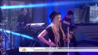 Video Avril Lavigne - Here's To Never Growing Up + Interview @ NBC Today Show 17/05/2013 download MP3, 3GP, MP4, WEBM, AVI, FLV Juli 2018