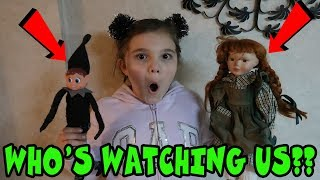 Was The Doll Maker Or Mean Elf Watching Us? Come Play With Us!