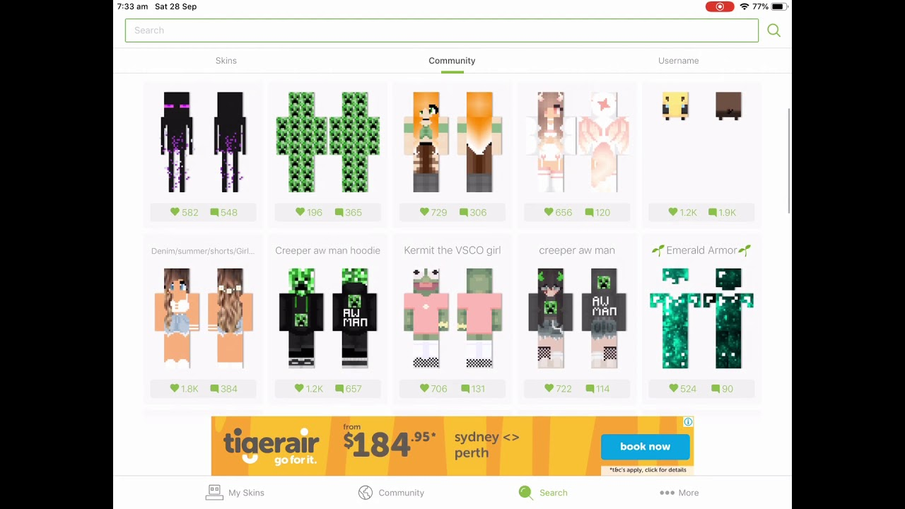 Minecraft Skinseed how to Tutorial (skin creator for iPad ...