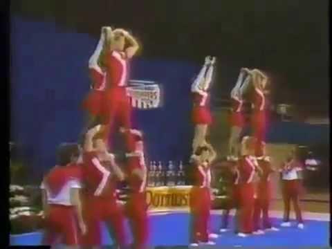 University of Louisville  Coed Cheerleading 1984