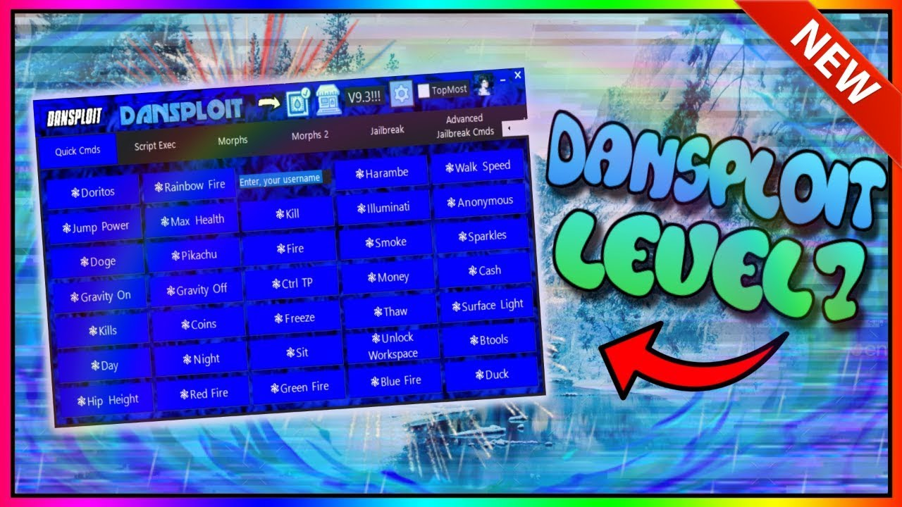 New Roblox Exploit Dansploit Patched Full Script Executor W