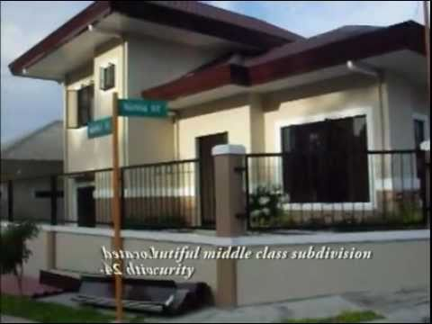 Semi 2 storey house for sale at priscilla estate davao for 2 storey house for sale