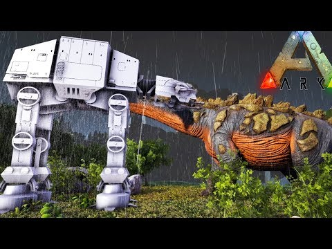 Ark Survival Evolved - NEW ATAT CAUSED THE DINOSAUR EXTINCTION - Ark Gameplay