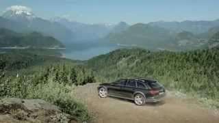 The NEW Audi A6 Allroad 2012 - First video