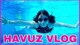 Havuzda Bir Gün Vlog - Eğlenceli  Video