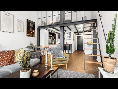 The Sims 4 | Industrial Loft Studio Apartment| Speed Build + Download links