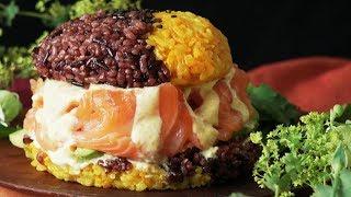 【濃厚】エキゾチック寿司バーガー🍣 thumbnail