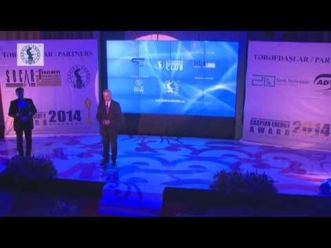 Caspian Energy Integration Award 2014 - Iltimas Məmmədov
