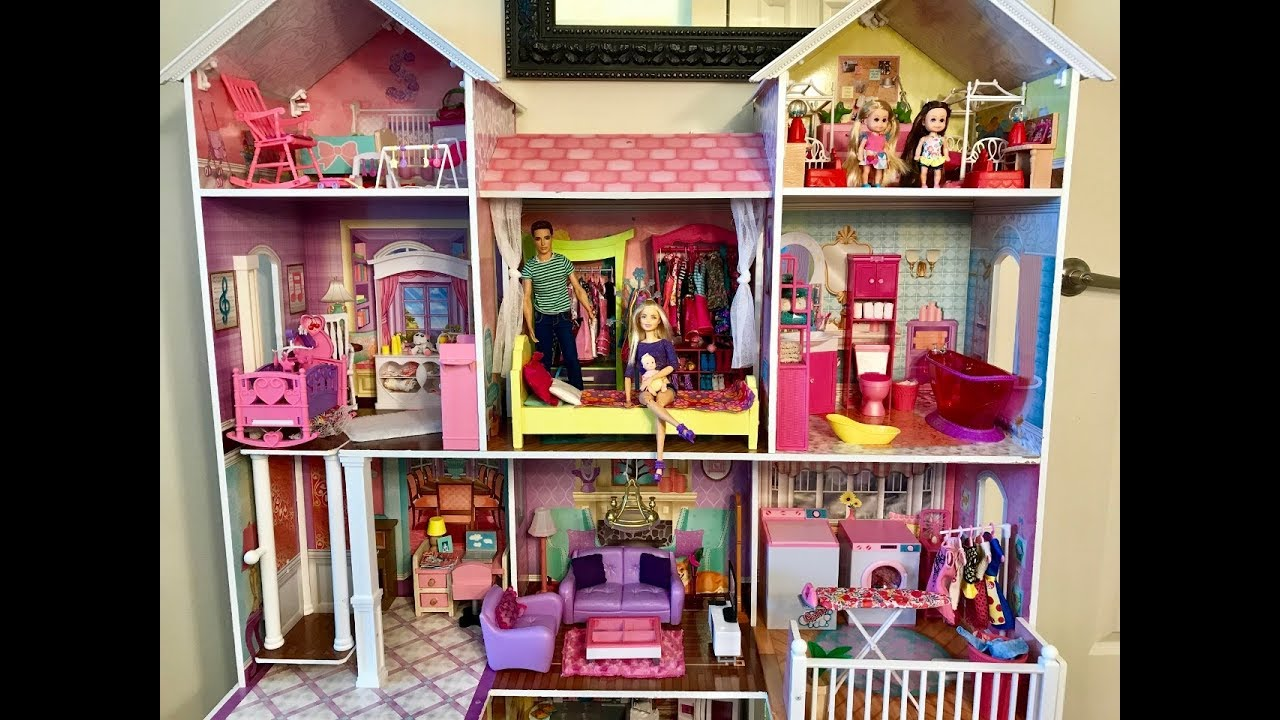 Barbie HOUSE!! NEW! BI...