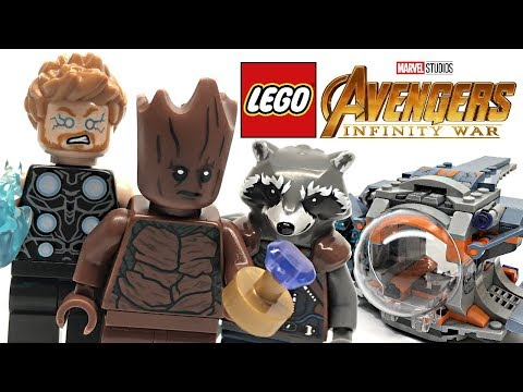 LEGO Avengers Infinity War Thor's Weapon Quest review! 2018 set 76102! thumbnail