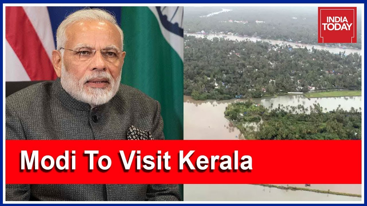 Kerala Floods Live Coverage: PM Modi To Visit Kerala Today; Aluva Worst-Hit Area