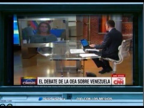 CNN indignada con la OEA por no sancionar a Venezuela