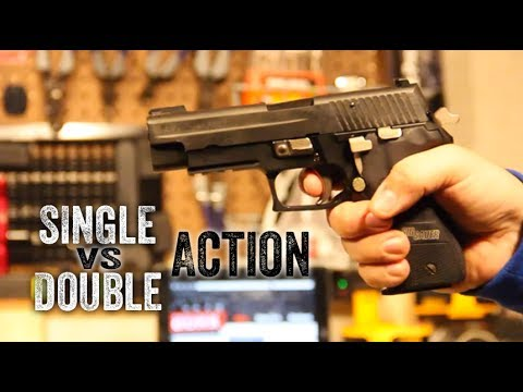 single oder double action