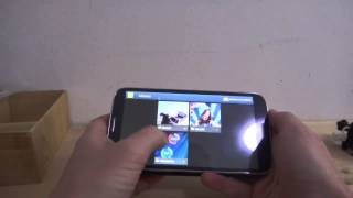 Elephone P6 - управление жестами