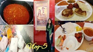 A day in my life vlog தமிழ்||bigil movie||more market||forum mall||MMM explorer