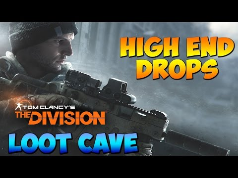 The division - Unlimited phoenix credits and Rare to high-end drops Loot cave