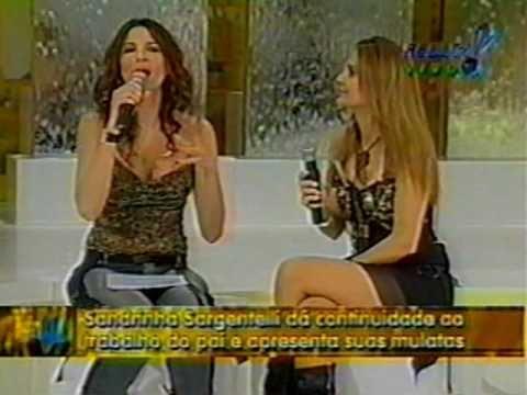 SANDRINHA SARGENTELLI e Luciana Gimenez no Super Pop -Rede TV