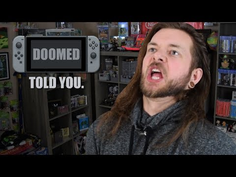 """""""Nintendo Switch Has No Games! DOOMED TO FAIL!"""" (Game Awards)"""