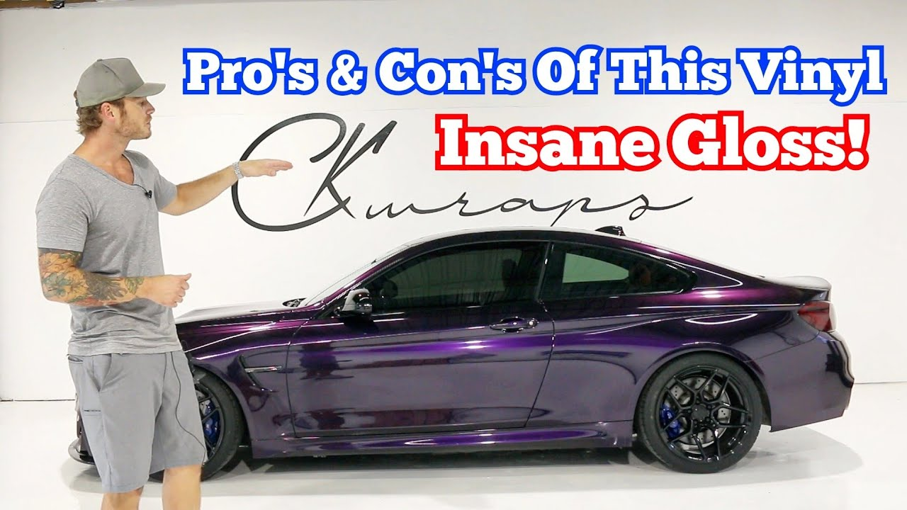 My Experience Pro's & Con's Of This Vinyl | THE MOST GLOSSY WRAP!