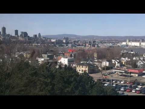 Québec (ville) vue de Lévis / Quebec city from Levis.