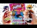 Bo-Po Digi-Nail Studio Nail Wrap with Miraculous Ladybug Nail Design #bopo | Evies Toy House