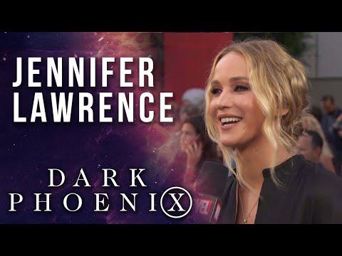 Jennifer Lawrence LIVE from the X-Men: Dark Phoenix red carpet world premiere!