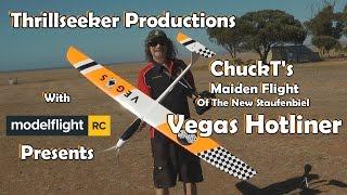 Staufenbiel Vegas Hotliner Glider Maiden Flight with ChuckT