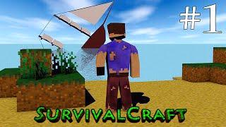 ( GAMEPLAY ) SURVIVALCRAFT ANDROID - SOBREVIVÊNCIA DIA # 1 thumbnail