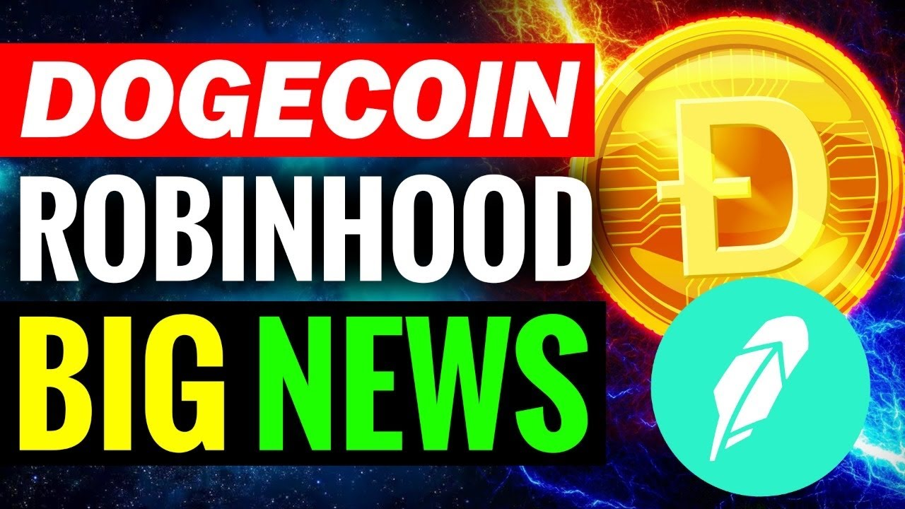 OMG! What ROBINHOOD Said About Dogecoin And Why You Should Pay Attention