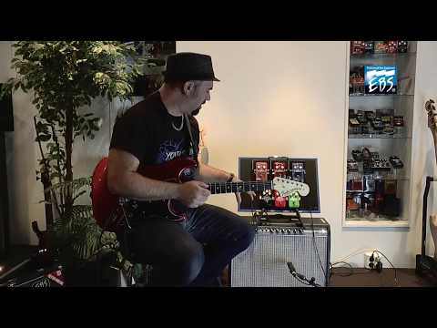 Dan Granero on how he get his guitar tone using EBS pedals, Part 1