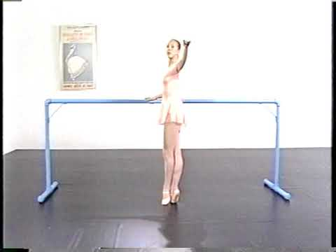 Ballet class for beginners with David Haward part 1