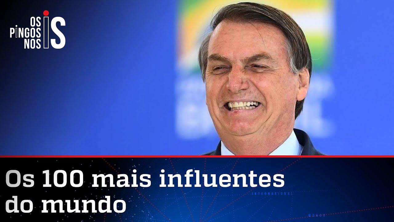 Bolsonaro e youtuber infantojuvenil na lista da TIME